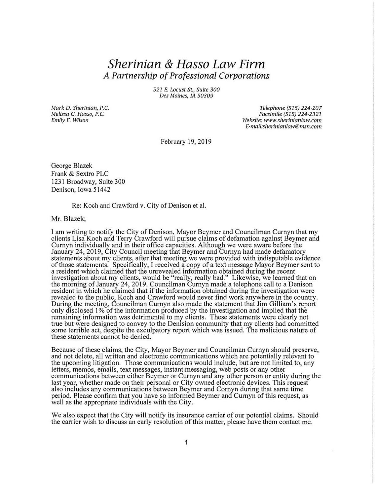 owner change contractor letter to city example