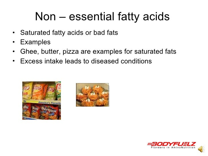 an example of a fatty acid