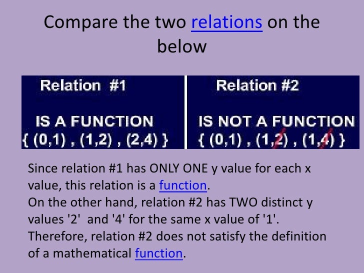 range math definition and example