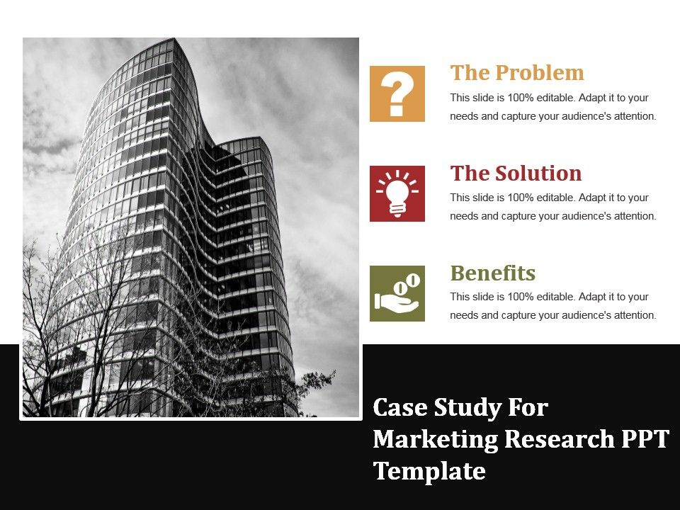 marketing research process case study example