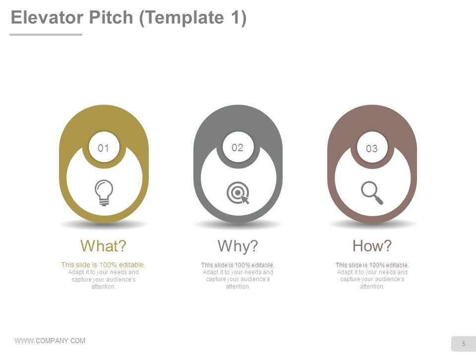 example elevator pitch for investors