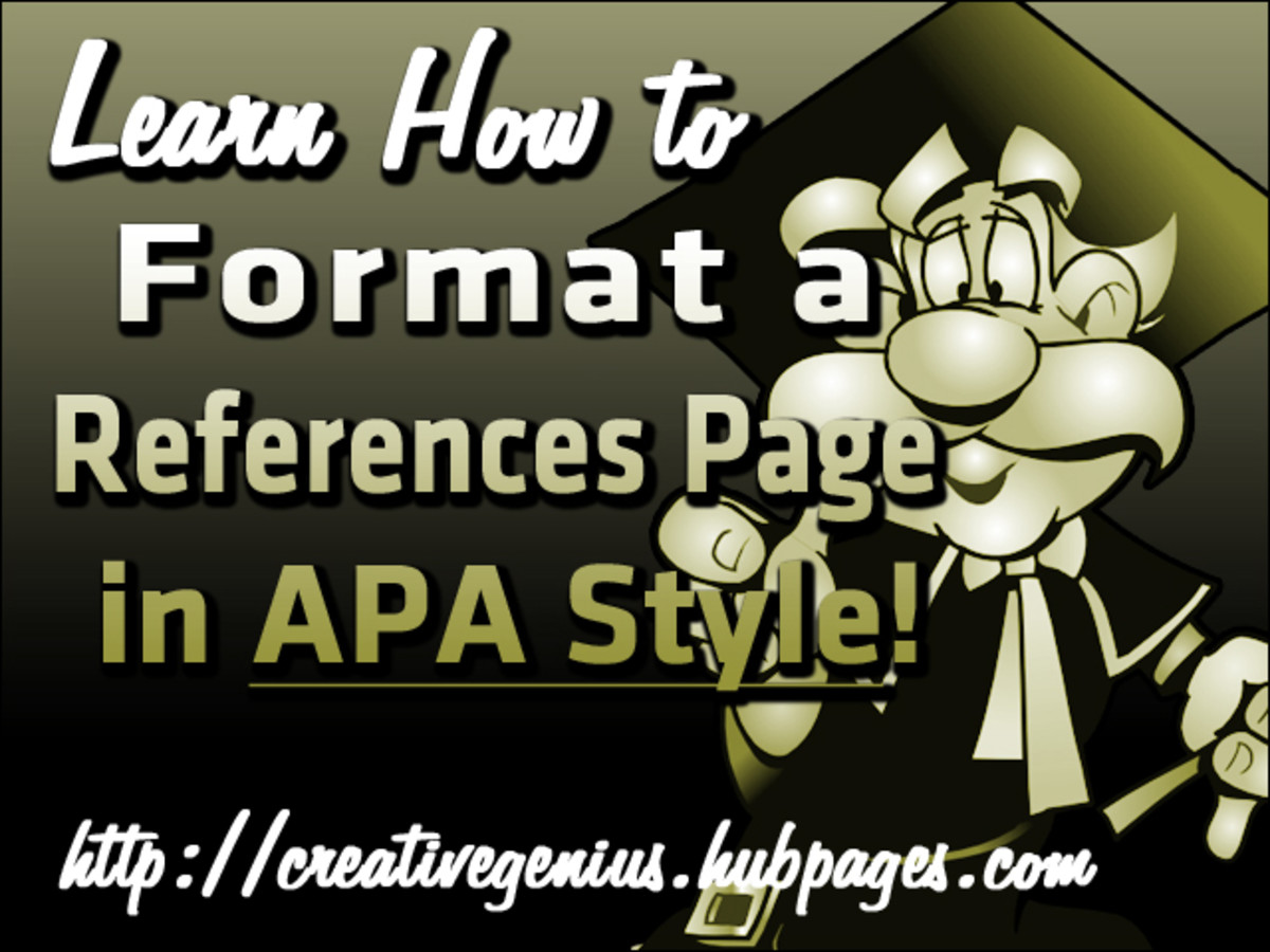 reference page apa 6th edition example