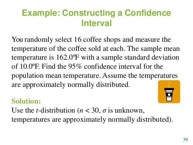 example of confidence interval in statistics