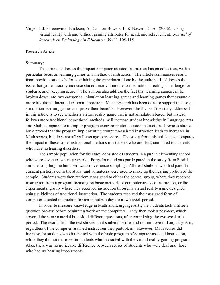 how to critique a journal article example