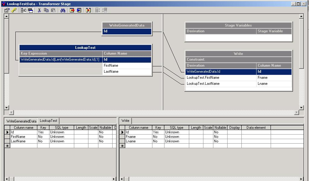 lookup stage in datastage 8.5 with example