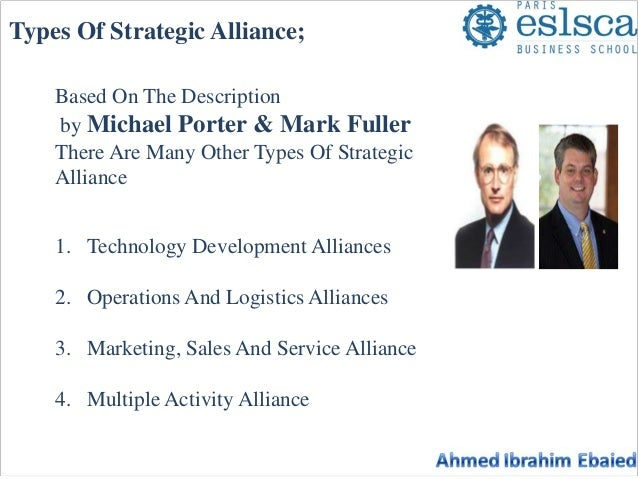 non equity strategic alliance example