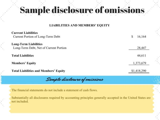 preparation of consolidated financial statements example