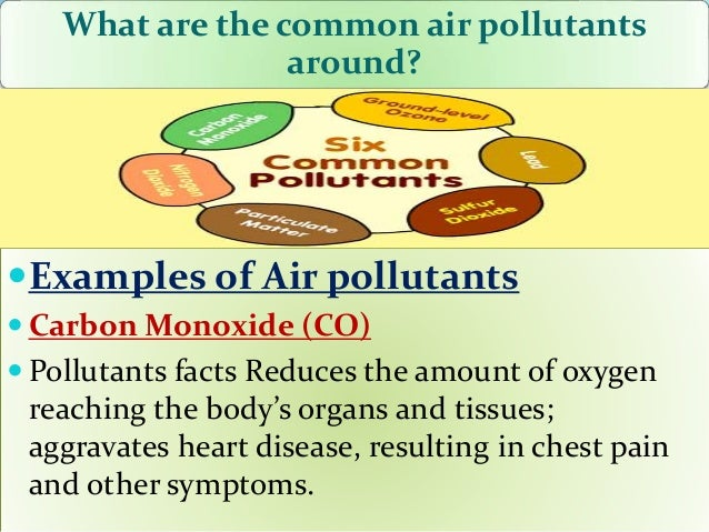 smog is an example of a ________ pollutant
