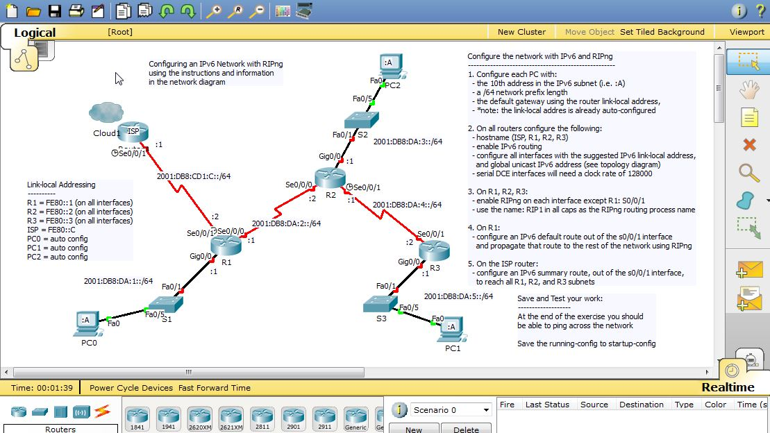 vlan configuration example in packet tracer